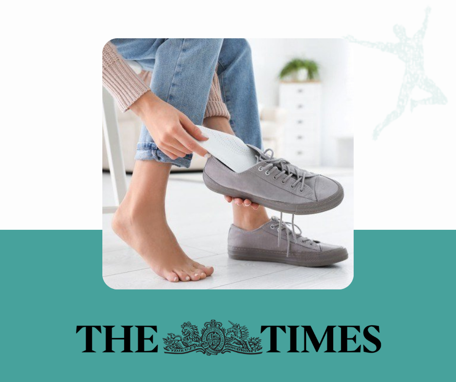 urban body orthotics article featured in the times newspaper