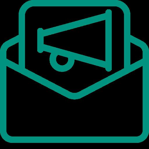 green news envelope logo